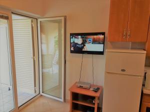 Apartments Vrtlici A1 - picture of living room; flat tv; SAT; flat high speed WiFi..